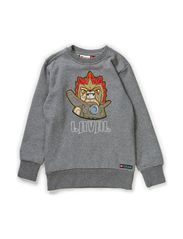 SHANE 801 - SWEATSHIRT - GREY