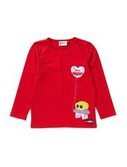 TAIA 704 - T-SHIRT L/S - RED