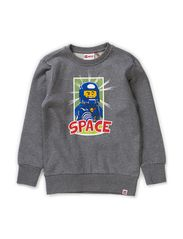 SHANE 720 - SWEATSHIRT - GREY