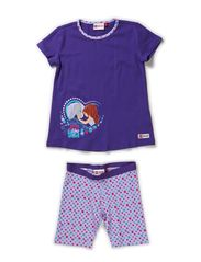 ALBERTINE 907 - NIGHTWEAR - PURPLE