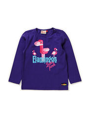 TINA 104 - T-SHIRT L/S - PURPLE