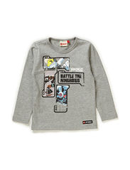 TIMMY 103 - T-SHIRT L/S - GREY