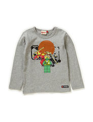 TIMMY 105 - T-SHIRT L/S - GREY