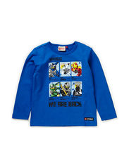 TIMMY 106 - T-SHIRT L/S - BLUE