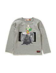 TIMMY 155 - T-SHIRT L/S - GREY