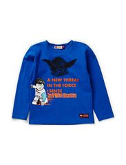 TIMMY 156 - T-SHIRT L/S - BLUE