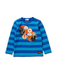 TIMMY 157 - T-SHIRT L/S - BLUE
