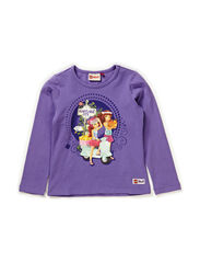 TANISHA 203 - T-SHIRT L/S - PURPLE