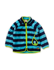 SINUS 104 - CARDIGAN FLEECE - BLUE
