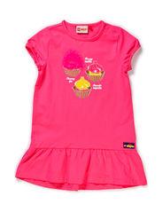 DAIMI 301 - DRESS (JERSEY) - PINK