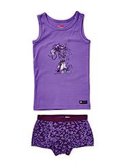 NEVADA 709 - UNDERWEAR SET - Purple