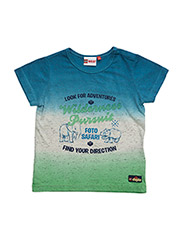 TREY 402 - T-SHIRT S/S - BLUE