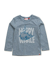 TREY 702 - T-SHIRT L/S - BLUE