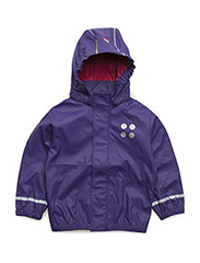 JANE 101 - RAIN JACKET - DARK PURPLE