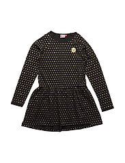 DANICA 801 - JERSEY DRESS - BLACK