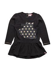 DIANA 701 - DRESS ( JERSEY) - BLACK