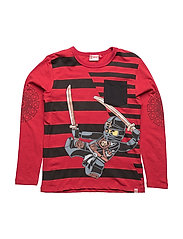 TEO 709 - T-SHIRT L/S - RED