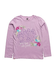 M-72180 - T-SHIRT L/S - LIGHT PURPLE