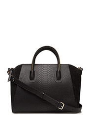Serpent black gold bag - BLACK