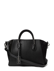 Serpent black silver bag - BLACK