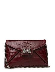 Heather bag - RED/CROCO