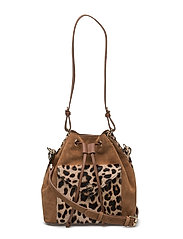 Leonardo bag - BROWN