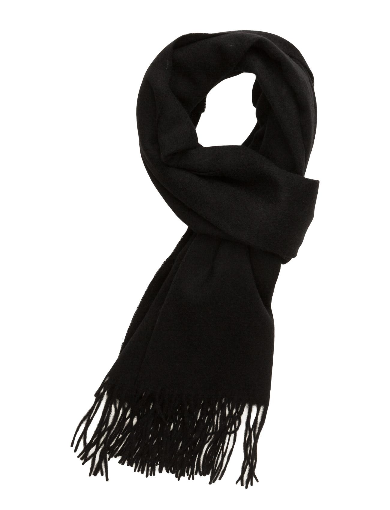 Scarf Wool Les Deux Halstørklæder til Herrer i Sort