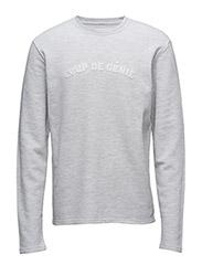 Sweatshirt Coup De Genie - SNOW MELANGE