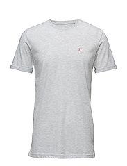 T-Shirt Nørregaard - SNOW MELANGE