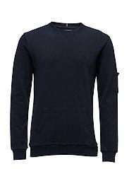 Sweatshirt Joey Pique - NAVY