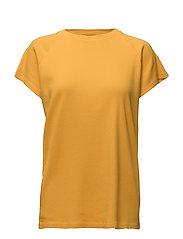 Ladies T-shirt Rib Hendricksons - YELLOW