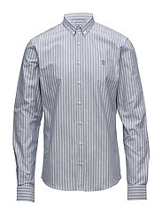 Windsor Shirt - NAVY/WHITE