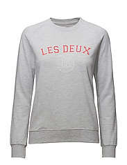 Ladies Sweatshirt Louise - SNOW MELANGE