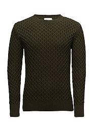 Voltaire Knitwear - KOMBU GREEN