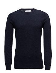 Cashmerino Knitwear - NAVY