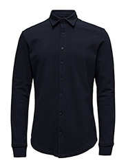 Shirt Polo Columbia L/S - NAVY