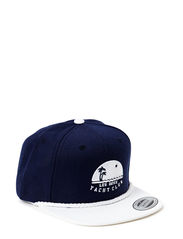 Snapback Les Deux Yacht Club - Navy/White