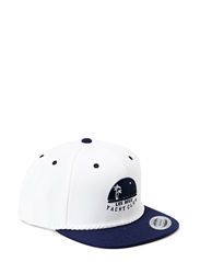 Snapback Les Deux Yacht Club - White/Navy