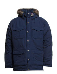 DOWN MOUNTAIN PARKA DRESS BLUE - 00