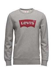 GRAPHIC CREW B HM FLEECE MIDTO - GREYS
