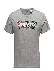 HOUSEMARK GRAPHIC TEE - HM SSNL FILL MIDTONE GREY HEATHER