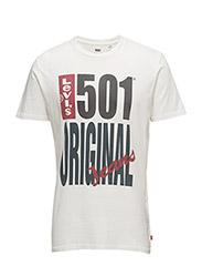501® GRAPHIC TEE - 501 ORIGINAL WHITE