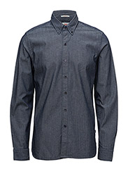 LS PACIFIC NO PKT SHIRT - STRETCH CHAMBRAY