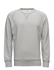 ORIGINAL CREW 3 MEDIUM GREY HE - GREYS