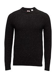 Hayes Crew Sweater 2 - MULTI-NEPS BLACK BEAUTY/MULTI