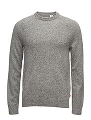 Hayes Crew Sweater 2 - MULTI-NEPS GREY MULTI
