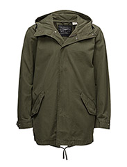 LW FISHTAIL PARKA - OLIVE NIGHT