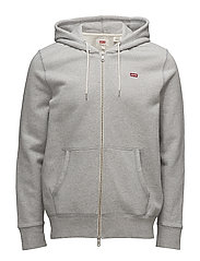 ORIGINAL HM ZIPUP HOODIE - MEDIUM GREY HEATHER (3)