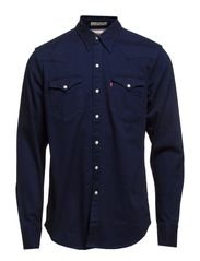 L/S BARSTOW STD WTRN MT H214 D - Denim Blue