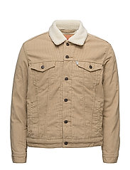 GOOD SHERPA TRUCKER CHINO SHER - NEUTRALS